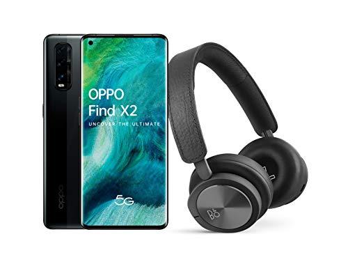 OPPO Find X2 5G Smartphone (AMOLED, 12GB / 256GB) 4200mAh Black + Bang & Olufsen H8i Headphones - £666.62 (UK Mainland) @ Amazon spain