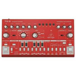 Behringer TD3 RD Analogue Bass Line Synthesizer (Red) £96.16 (Possibly £89) Delivered @ Juno Records