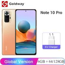 Redmi Note 10 Pro 64GB £213.39 delivered (£218.72 with Imports Duty) @ AliExpress Hong Kong Goldway