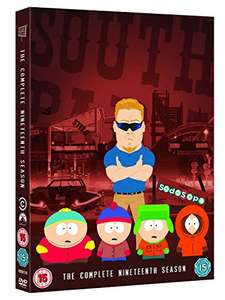 South Park - Season 19 DVD £1.36 (£1.26 delivery) - Dispatched from and sold by DVDDemon on Amazon
