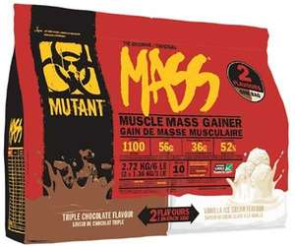 Mutant Mass (2 Flavour Bag) 2.7kg £28.80 @ Cardiffsportsnutrition