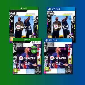 FIFA 21 - £18 / UFC 4 - £28.50 - [Physical Copies] On PS4 / PS5 or Xbox One - With Free Upgrade To Xbox Series S & X @ GameByte