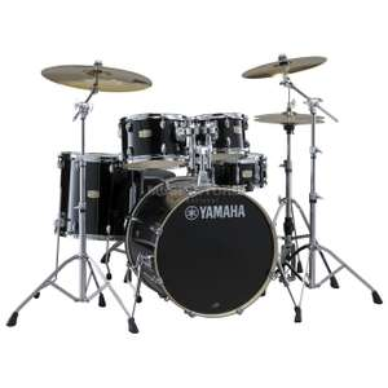 Yamaha Stage Custom Birch SBP0F5 Drum Set, Raven Black £588 delivered @ DV247 Music Store