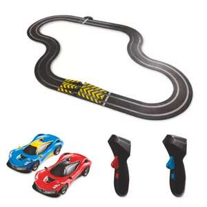 Scalextric Speed Shifters track set with two cars for £34.99 or Micro Scalextric Hot Pursuit £32.94 delivered @ Aldi