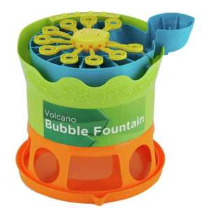 Chad Valley Large Bubble Fountain with 236ml of Bubble Solution Now £4.50 + £3.95 Delivery From Argos
