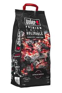 Weber Premium Holzkohle Charcoal, Black (3kg) - £5.34 + £4.49 non Prime @ Amazon Dispatched from and sold by Amazon EU.