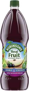 Robinsons Double Strength Squash 1.75l All Varieties - £1.75 Prime / +£4.49 non Prime (£1.49 S&S) @ Amazon