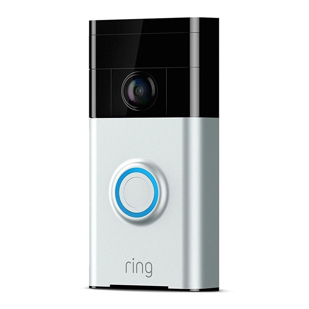 Ring Smart Video Home Doorbell Wired Satin Nickel (Manufacturer Refurbished) - £49.98 delivered at Scan