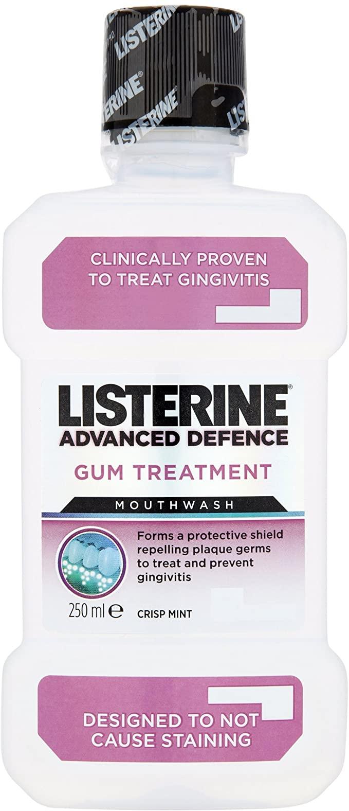 Listerine Advanced Defence Gum Treatment Mouthwash, Crisp Mint, 250 ml - £1 instore @ Home Bargains, Newcastle upon Tyne