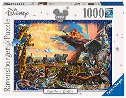 Ravensburger Disney Collector's Edition Lion King 1000 Piece Jigsaw Puzzle £7.98 (Prime) + £4.49 (non Prime) at Amazon
