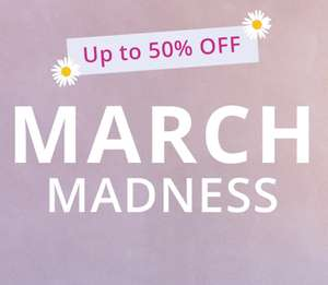 March Madness - 48 Hour Flash Sale - Up to 50% OFF - Ends Midnight Sunday (Delivery £3.95) @ BraStop
