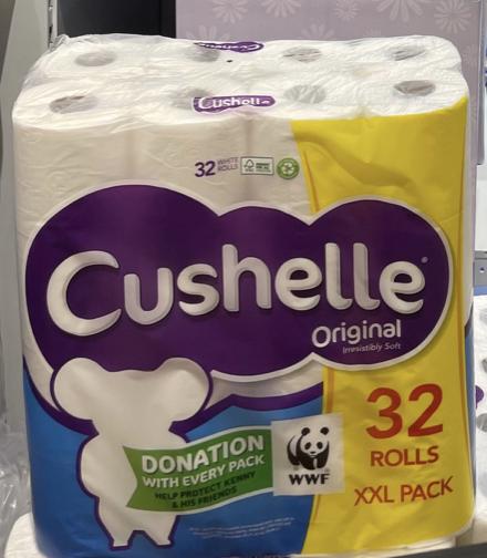Cushelle Original 32 rolls XXL pack - 9.99 instore at Lidl (Edinburgh)