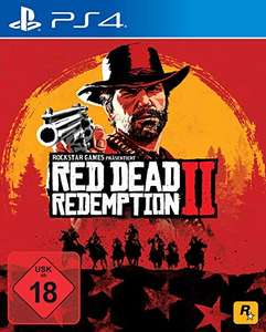 Red Dead Redemption 2 (PS4) £15.56 (Prime) / £18.55 (Non-prime) (UK Mainland) sold by Amazon EU @ Amazon