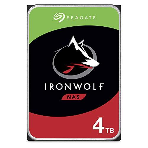 Seagate 4 TB IronWolf 3.5 Inch NAS Hard Drive SATA 6.0 Gb/s - £82.35 @ Amazon