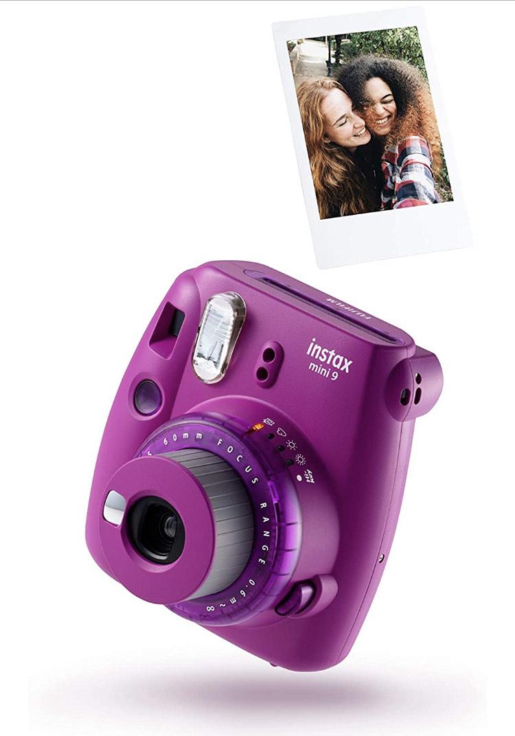 instax Mini 9 Clear Camera with 10 shots - £41.63 @ Amazon
