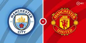 Bet £5 inplay in the Manchester City v Manchester United game & get a £5 free bet @ Skybet