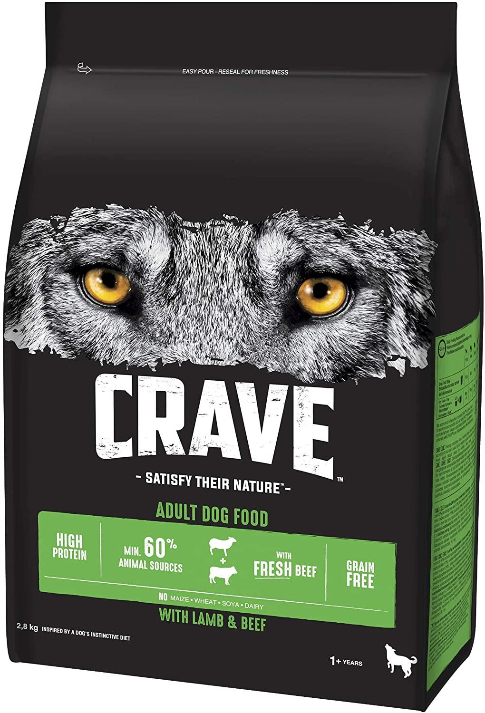 Crave Dry Dog Food £13 Prime at Amazon (+£4.49 non Prime)