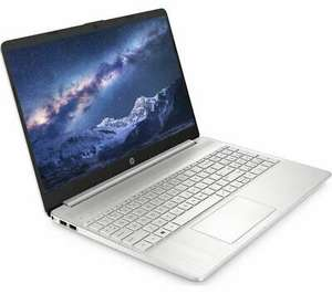 "HP 15s-eq1516sa 15.6"" Laptop - AMD Ryzen 3, 128 GB SSD, Silver REFURBISHED A £303.20 @ Currys Clearance / eBay"