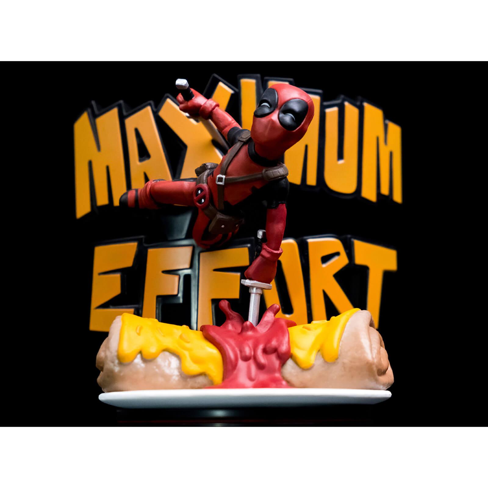 Deadpool Maximum Effort Q-Fig Max Diorama £14.99 Delivered (Using Code) at Zavvi
