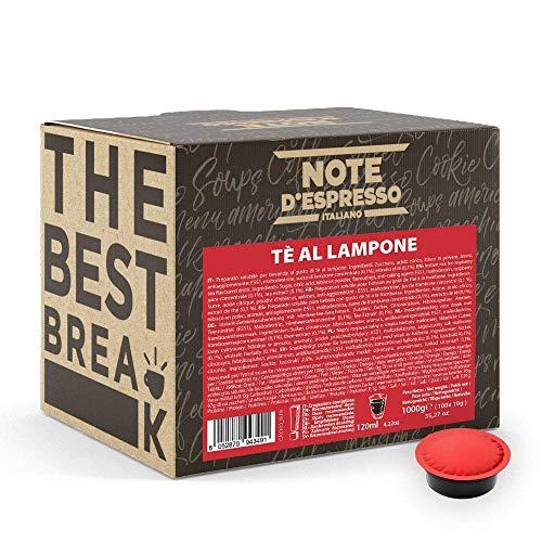 Note d'Espresso Pods for Lavazza and A Modo Mio Machines, Red Raspberry Tea, 10 g (100-Pack) £3.19 Prime / +£4.49 non Prime @ Amazon
