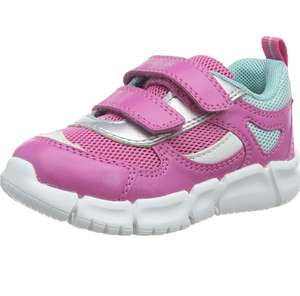 Girls pink flexyper Geox trainers size 6 now £13.64 (+£4.49 Non Prime) @ Amazon