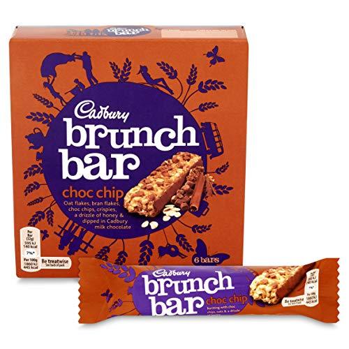 Cadbury Brunch Bar Chocolate Chip, 6 x 32g 99p Prime +4.49 non prime @ Amazon