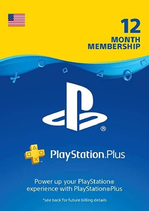 PlayStation Plus 12 Month Membership [PSN USA] £17.99 @ CDKeys