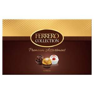 Ferrero Collection 12 Pieces Boxed Chocolates 135G £1.99 Farmfoods Livingston