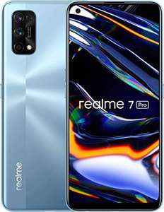 """Realme 7 Pro Mirror Silver 8+128GB 6.4"""" AMOLED Full Screen Display Quad Camera 4500mAh £234 Sold by eFones & Fulfilled by Amazon"""