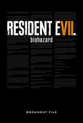 Resident Evil 7: Biohazard Document File Hardcover Book (2020) £12.28 @amazon.co.uk