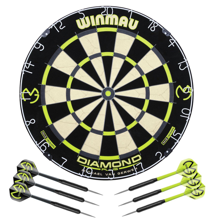 Winmau Michael van Gerwen Diamond Dartboard and Darts Set + extras £31.95 delivered @ Argos