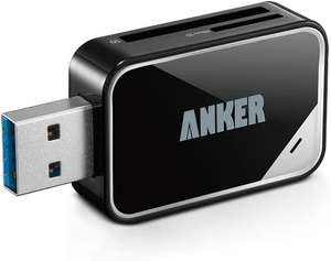 Anker® USB 3.0 8-in-1 Card Reader £7.64 / £12.13 non prime Sold by AnkerDirect and Fulfilled by Amazon.