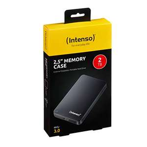 Intenso 6021580 2TB Memory Case USB 3.0 2.5 Inch External Hard Drive - Black - £38.43 Delivered at Amazon