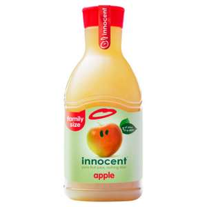 Innocent juice 1.35L all varieties £2 (+ Delivery Charge / Minimum Spend Applies) @ Asda