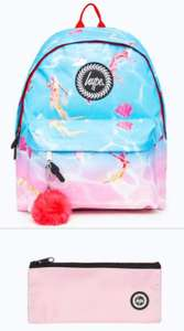 Hype Mermaid Backpack plus Free Pencil Case Now £9 Free Delivery @ Just Hype