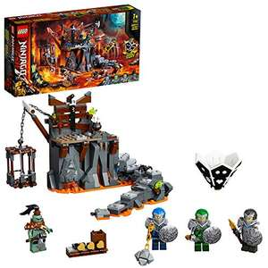LEGO NINJAGO 71717 Journey to the Skull Dungeons 2in1 Building Set & Board Game - £19.78 (+£4.49 Non Prime) @ Amazon