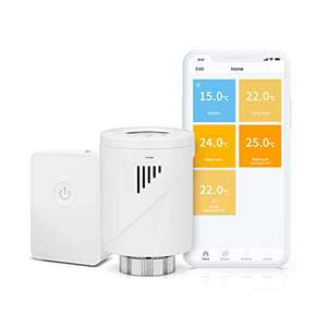 Meross Smart Heating Radiator Thermostat works with Alexa, Google Home, IFTTT for £30.24 delivered using code @ Meross Home EU / Amazon