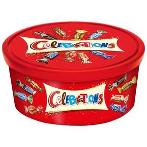 Celebrations Tub 650g £1 at B&M Orpington