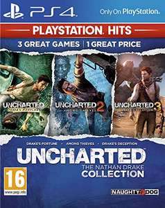 Uncharted: The Nathan Drake Collection (PS4 HITS) - £7.35 Prime (£10.34 Non Prime) @ Amazon