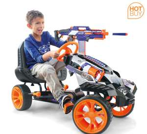 Nerf Battle Racer Pedal Go Kart (4-10 Years) £134.99 delivered @ Costco