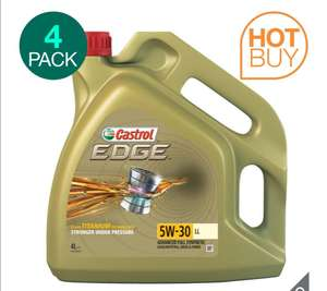 Castrol EDGE 5W-30 Long Life Car Engine Oil, 4 Litres – 4 Pack (16 Litres) Delivered £74.59 @ Costco