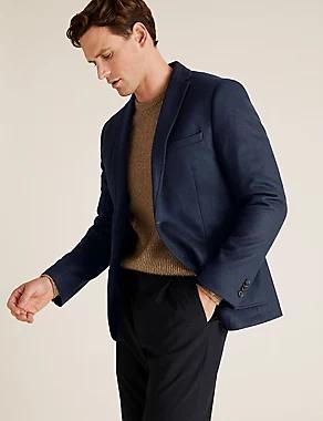 Slim Fit Wool Jersey Blazer, £19 plus £3.50 Delivery @ Marks & Spencer
