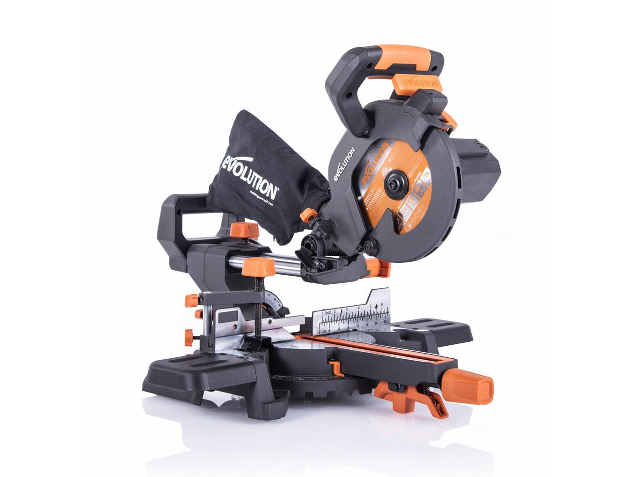 Evolution R185SMS+ 185mm Multi-Material Sliding Mitre Saw £119 @ FFX ebay