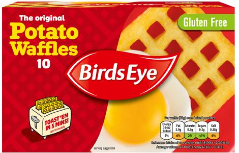 10 Birds Eye Waffles 99p @ Farmfoods (Sutton)