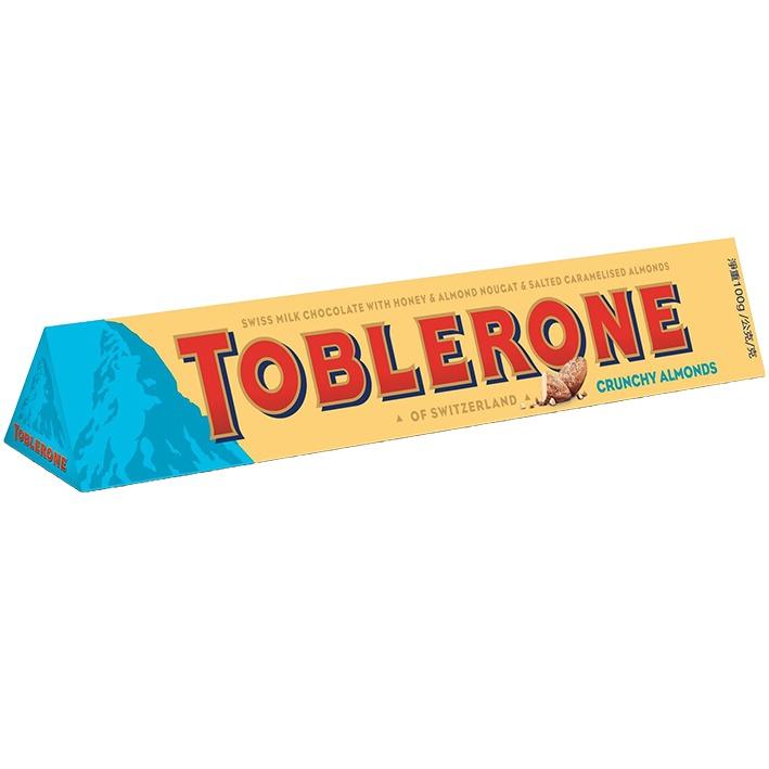 Toblerone Crunchy Almonds 4 for £1 instore Yardley Farmfoods