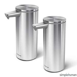 simplehuman Motion Sensing Soap Pump, 2 Pack £79.99 delivered at Costco