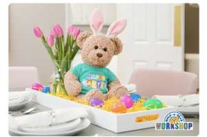 20% off e-gift card over £30 @ Build-a-Bear Workshop