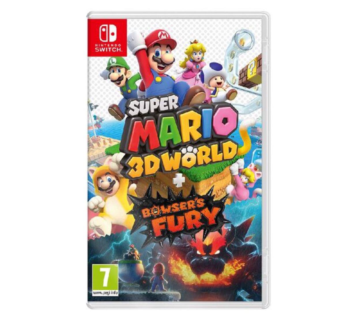 Super Mario 3D World + Bowser's Fury £39.85 @ ShopTo