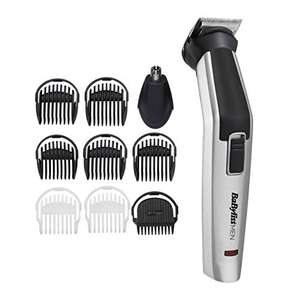 BaByliss MEN 10 in 1 Titanium Face and Body Multi Grooming Kit with Nose Trimmer Head - £19.99 Prime / +£4.49 non Prime @ Amazon