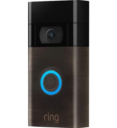 Ring Video Doorbell (Gen 2) - Venetian Bronze - BT Store customer return £43.20 plus £3.99 postage at BT Shop